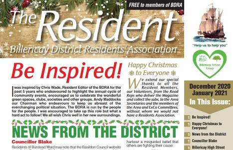 December 2020/January 2021 edition of The Resident